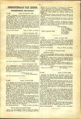Handelingen van de Raad 1902-09-30