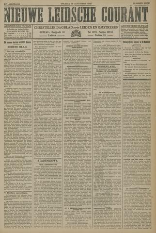 Nieuwe Leidsche Courant 1927-08-19