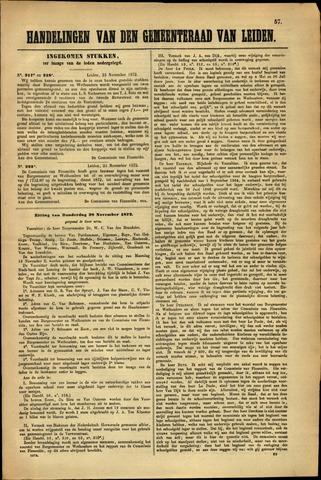 Handelingen van de Raad 1872-11-25