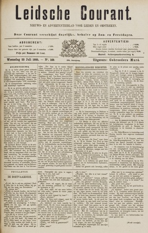 Leydse Courant 1885-07-22