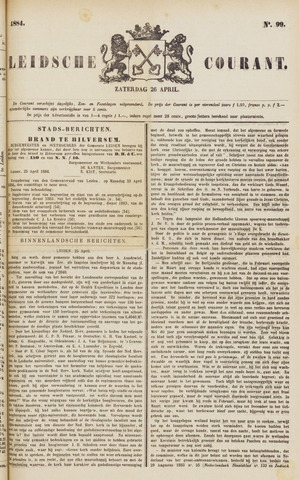 Leydse Courant 1884-04-26