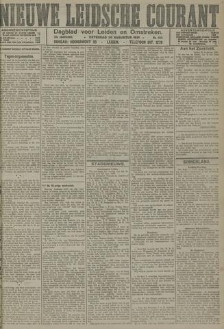 Nieuwe Leidsche Courant 1921-08-20