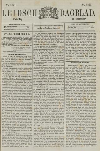 Leidsch Dagblad 1875-09-25
