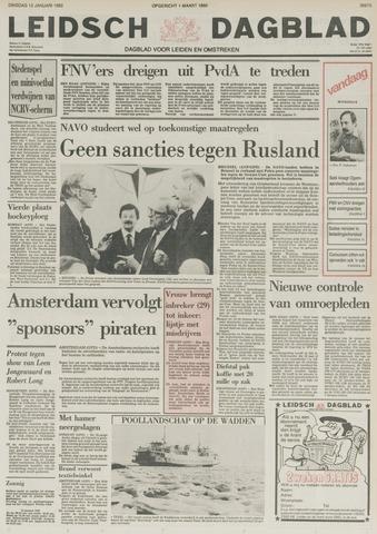 Leidsch Dagblad 1982-01-12