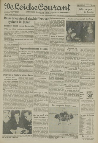 Leidse Courant 1954-09-27