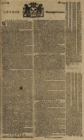 Leydse Courant 1779-08-30