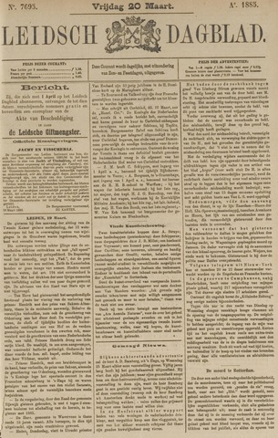 Leidsch Dagblad 1885-03-20