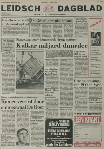 Leidsch Dagblad 1982-08-26