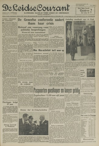 Leidse Courant 1954-06-09