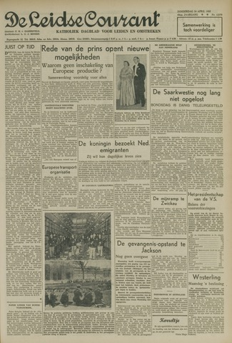Leidse Courant 1952-04-24