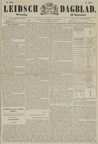 Leidsch Dagblad 1869-09-22