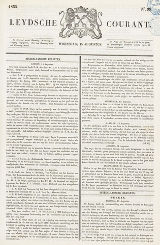 Leydse Courant 1855-08-15