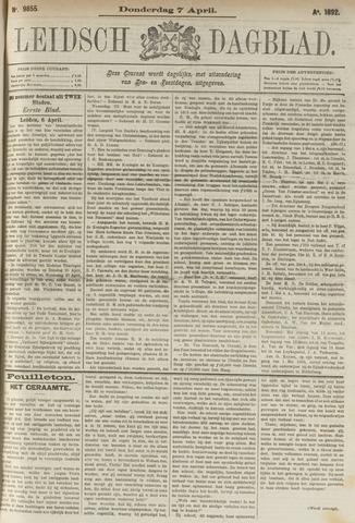 Leidsch Dagblad 1892-04-07