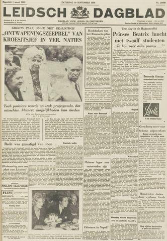 Leidsch Dagblad 1959-09-19