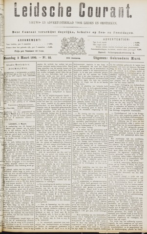 Leydse Courant 1890-03-03