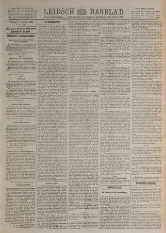 Leidsch Dagblad 1920-02-21