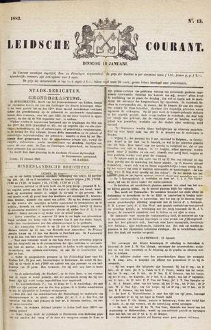 Leydse Courant 1883-01-16