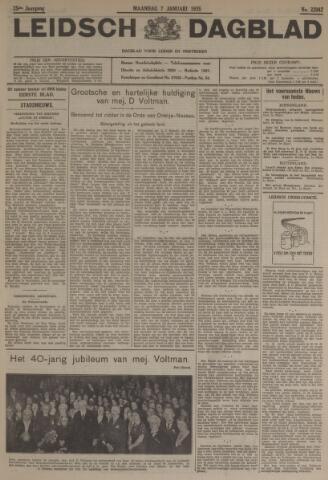 Leidsch Dagblad 1935-01-07