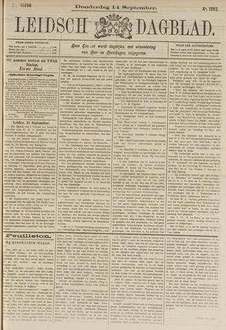 Leidsch Dagblad 1893-09-14
