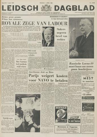 Leidsch Dagblad 1966-04-01