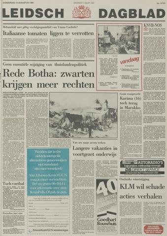 Leidsch Dagblad 1985-08-15