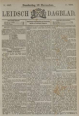 Leidsch Dagblad 1880-11-18