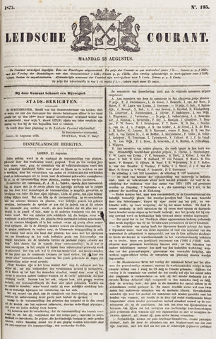 Leydse Courant 1875-08-23