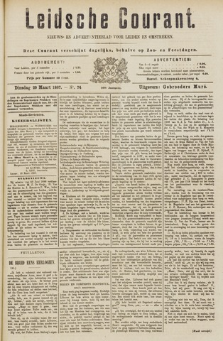 Leydse Courant 1887-03-29