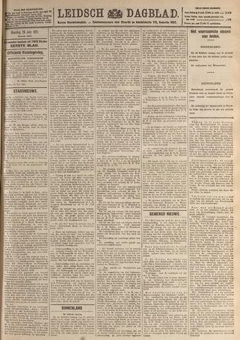 Leidsch Dagblad 1921-07-26