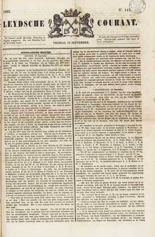Leydse Courant 1862-09-19