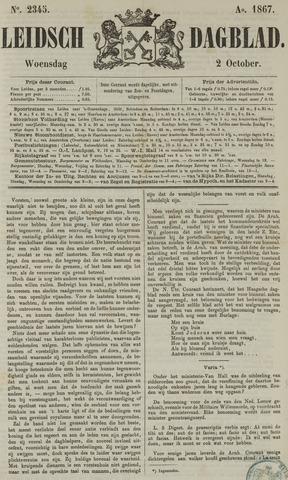 Leidsch Dagblad 1867-10-02