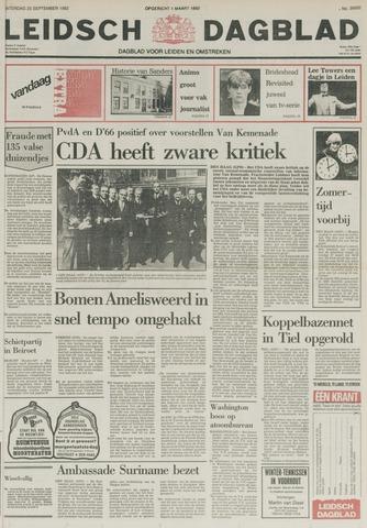 Leidsch Dagblad 1982-09-25