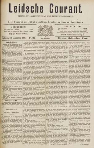 Leydse Courant 1885-08-22