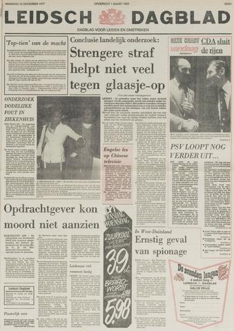 Leidsch Dagblad 1977-12-12
