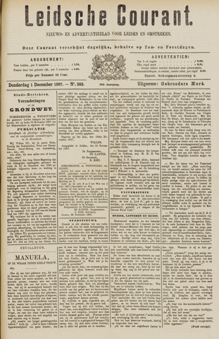 Leydse Courant 1887-12-01
