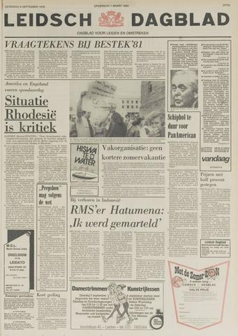 Leidsch Dagblad 1978-09-09