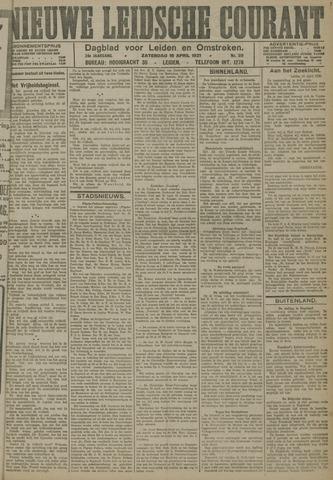 Nieuwe Leidsche Courant 1921-04-16