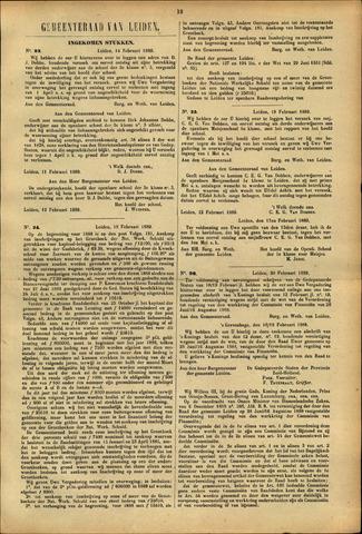 Handelingen van de Raad 1889-02-14