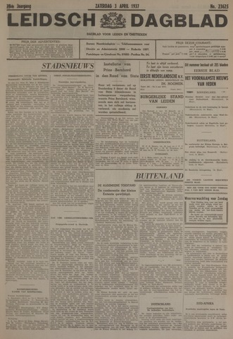 Leidsch Dagblad 1937-04-03