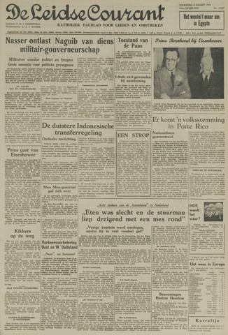 Leidse Courant 1954-03-08