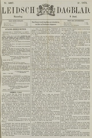 Leidsch Dagblad 1873-06-09