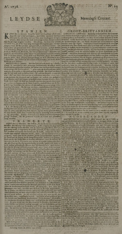 Leydse Courant 1736-02-20