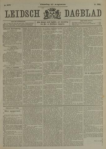 Leidsch Dagblad 1909-08-17