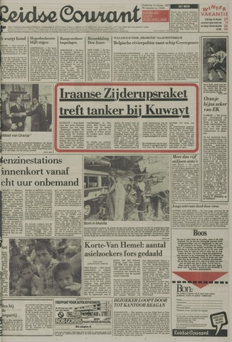 Leidse Courant 1987-10-15