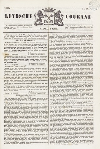 Leydse Courant 1865-06-05