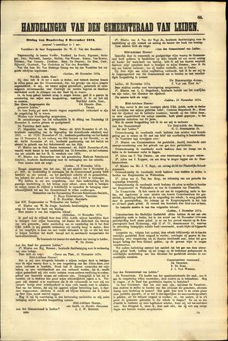 Handelingen van de Raad 1874-12-03