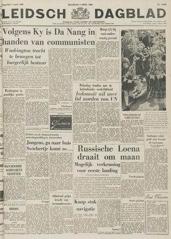 Leidsch Dagblad 1966-04-04