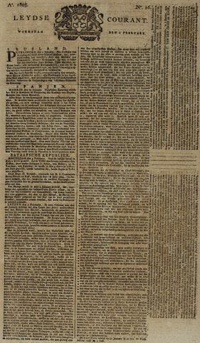 Leydse Courant 1805-02-06