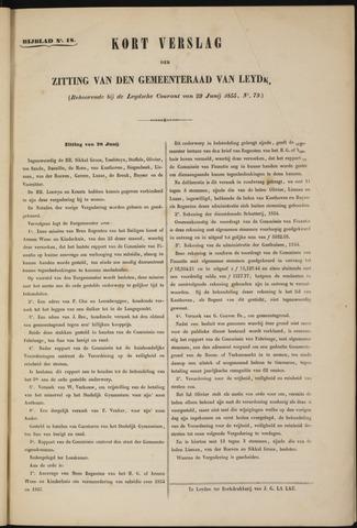 Handelingen van de Raad 1855-06-28