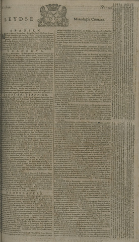 Leydse Courant 1744-11-30